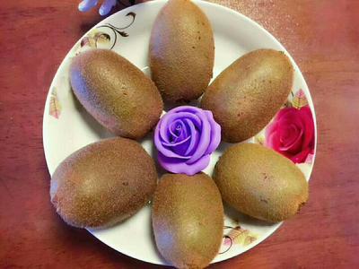 陕西西安翠香猕猴桃 80~100克 五斤装大果  单果80-120克