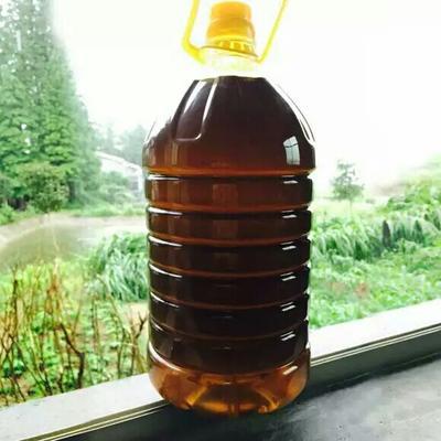 山西运城自榨纯菜籽油 2.5L/桶