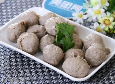 广东广州牛肉丸 半年