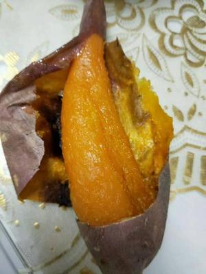 山东菏泽蜜薯一号 1~3两 红皮