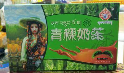青海西宁奶茶 12-18个月 阴凉干燥处 央尊青稞奶茶(固体饮料)320克装 包邮
