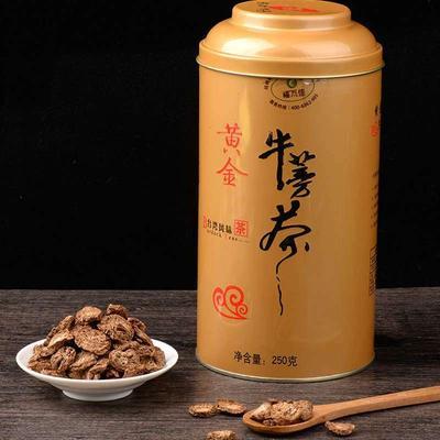 江苏徐州牛蒡茶 罐装 1-2年 特级