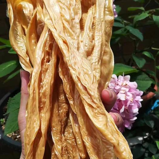 腐竹  正宗客家山泉水,农村作坊,纯手工制作,原浆头层皮豆香味,