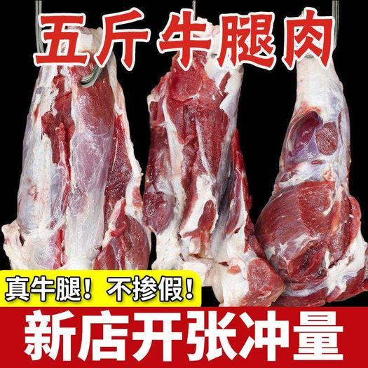 牛肉类  精品黄牛肉国产冷鲜冰冻调理牛肉五斤包邮
