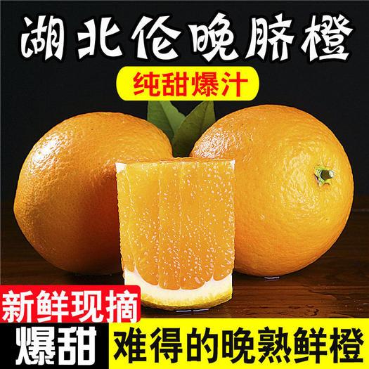 湖北秭归伦晚脐橙正宗新鲜产地直发伦晚橙