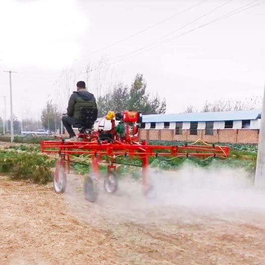 內蒙古玉米打藥機乘坐式折疊噴桿小麥打藥機蔬菜噴藥機