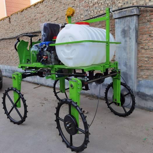 柴油四輪打藥機高架折疊噴桿玉米打藥機內蒙古蔬菜打藥機