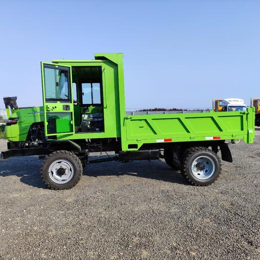 农用拖拉机  灵巧后卸式液压型加厚的自卸式农用四轮四不像车 工程拖拉机运料