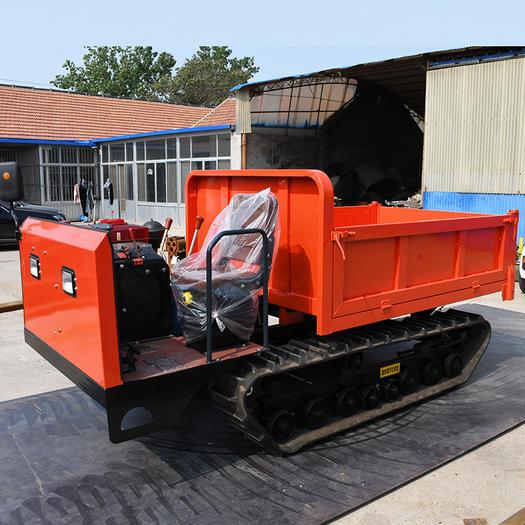 3吨运输车 贵州山地爬坡农用履带车 自走工程自卸车